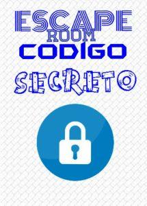 logotipo completo escape room Cáceres Código Secreto